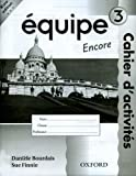 img - for Equipe: Workbook 3 Encore: Part 3 (Pt. 3) book / textbook / text book
