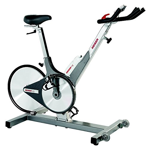 With Computer Keiser M3 Indoor Cycle Stationary Indoor Trainer Exercise Bike
