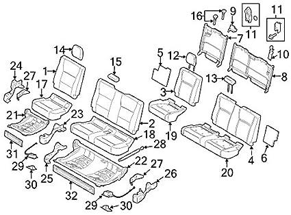 Car Seating Diagram