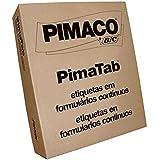 Etiqueta Matricial 26155C Pimatab 26 X 15 Mm Cx.C/45000 Pimaco