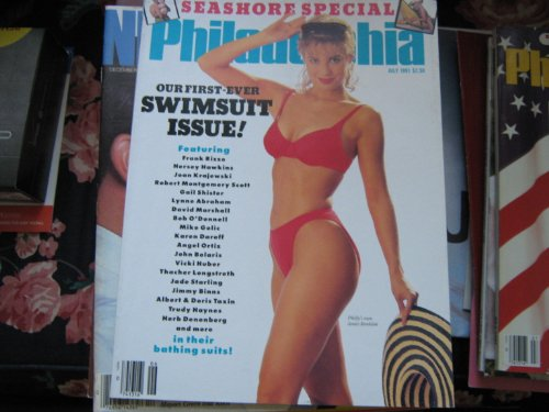 Philadelphia Magazine (Seashore Special ! ,Our First Ever Swinsuit Issue ! , Janice Strohlein , Frank Rizzo , Hershey Hawkins , Gail Shister , Lynne Abraham & More)