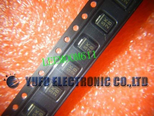 Laliva One Lot 50Pcs SK2B EIC SMB Schottky Barrier Diodes NEW(EQ80) ()
