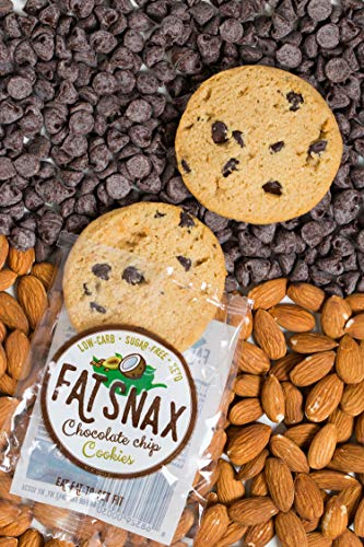 Large Product Image of Fat Snax Chocolate Chip Cookies (6-pack (12 cookies))