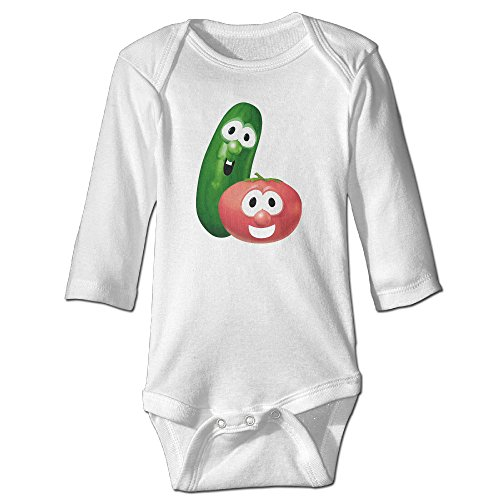 cute-baby-onesies-veggietales-lord-of-the-beans-lisa-vischer-tim-hodge-cotton-bodysuit