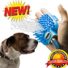 Combination Shower Sprayer and Scrubber Pet Bathing Tool Pet Supplies for Dog Grooming Dog Suppliest Shower Dog Grooming kit Pet Shower Sprayer for Massage with 7.5 Foot Hose and 2, Indoor/Outdoor Use