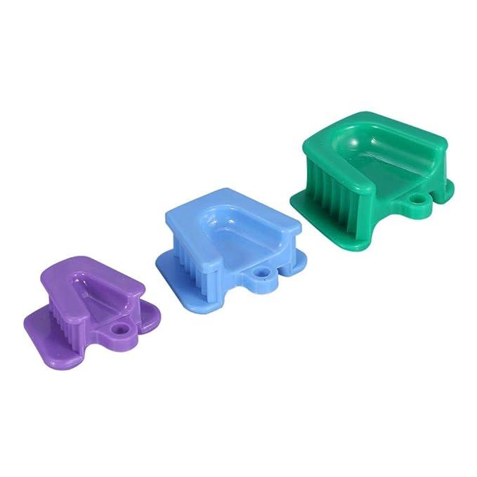 3PCS / Set Equipos dentales Boca abridor Bite amortiguador ...