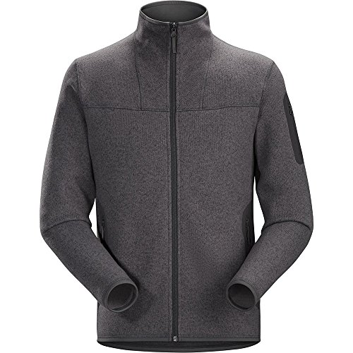 ARC'TERYX Men's Covert Cardigan Pilot Black L (Fleece Pilot Jacket)