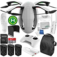 PowerVision PowerEgg Drone with 360 Panoramic 4K HD Camera and 3-axis Gimbal with Maestro Ultimate Accessory Bundle