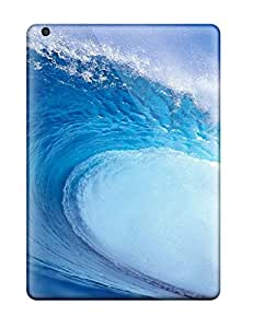 New Fashionable HHaroldshon VuQFiSR8544Xnypk Cover Case Specially Made For Ipad Air(tidal Wave)