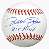 "Pete Rose Autographed Official MLB Baseball Cincinnati Reds ""Hit King"" PSA/DNA Stock #64806"