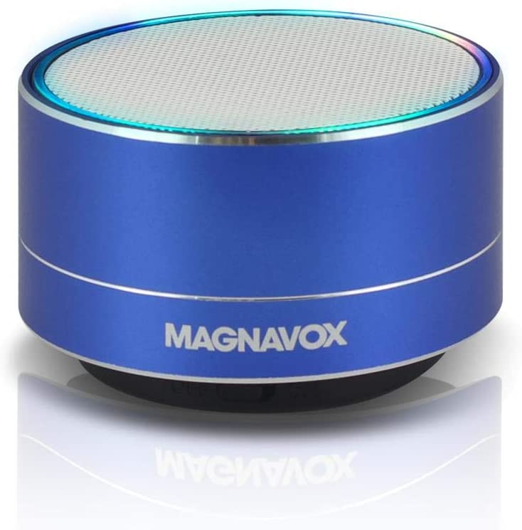 Magnavox Mma3652bl Blue Portable Speaker With Bluetooth