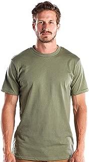 product image for US Blanks Men's 4.3 Oz. Short-Sleeve Crewneck L Olive