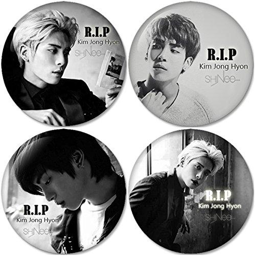 Kim Jong Hyon Shinee Buttons Badges/Pin 1.25 Inch (32mm)