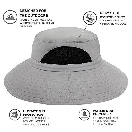 2fd1bfc18cf409 EINSKEY Sun Hat for Men/Women, Summer Outdoor Sun Protection - Import It All