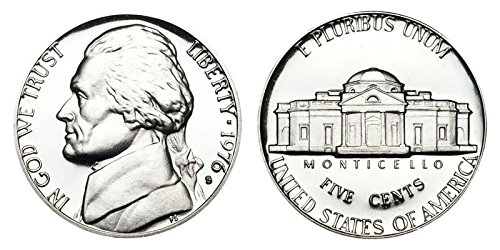 1976 S Proof Clad Jefferson Nickel PF1