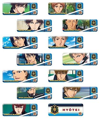 مجموعه نشان های Long Kang New Prince of Tennis Hyoutei BOX کالا 1BOX = 14 قطعه ، همه 14 نوع