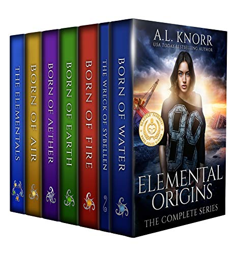 - Elemental Origins: The Complete Series Bundle: (Water, Fire, Earth, Air, Aether, Ensemble Novel)