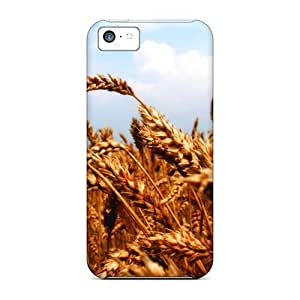 Bernardrmop FUUwefb3742BsImg Case For Iphone 5c With Nice Wheat And Sky Appearance