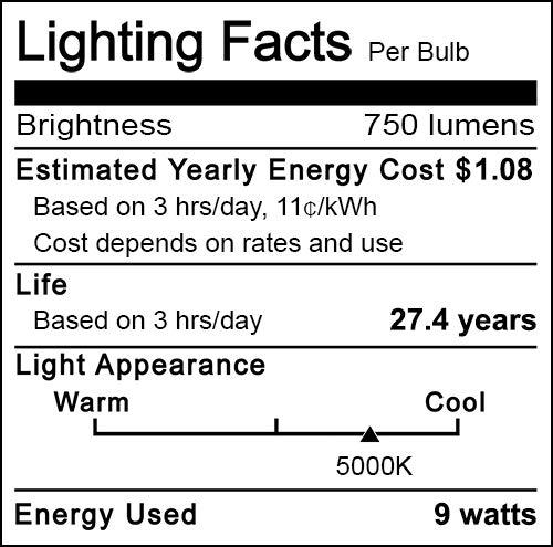 Dusk to Dawn Light Bulb Sensor LED Light Bulbs 9W E26 Automatic On/Off Smart Light Bulb Outdoor Lighting for Yard Patio Porch Garage Garden (Daylight White, 2 Pack)