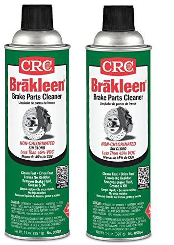 CRC 05084 BRAKLEEN Brake Parts Cleaner – Non-Chlorinated – 14 Wt Oz
