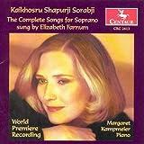 Sorabji - Complete Soprano Songs