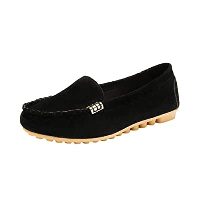 ed510519ecf JYC 2018 Clearance Ladies Women Casual Flat Shoes Leather Loafers ...