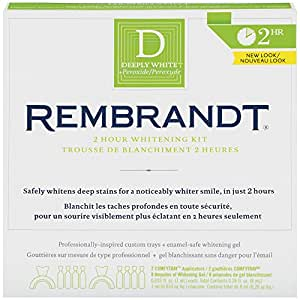 Rembrandt Deeply White 2-Hour Whitening Kit