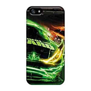 First-class Case Cover For Iphone 5/5s Dual Protection Cover Car Racing