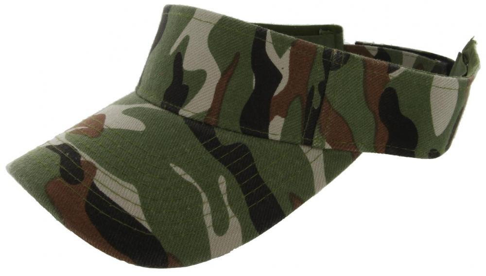 Camo_(US Seller)Outdoor Sport Hat Sun Cap Adjustable Velcro