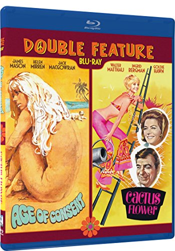 Cactus Bits - Age of Consent, Cactus Flower - Double Feature - BD [Blu-ray]