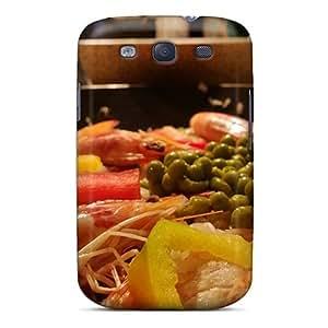 Galaxy S3 JObJAlv2586voKfd Sea Bokeh Paella Wallpaper Tpu Silicone Gel Case Cover. Fits Galaxy S3