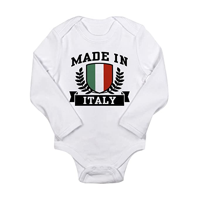 Amazon.com: CafePress - Body para bebé fabricado en Italia ...