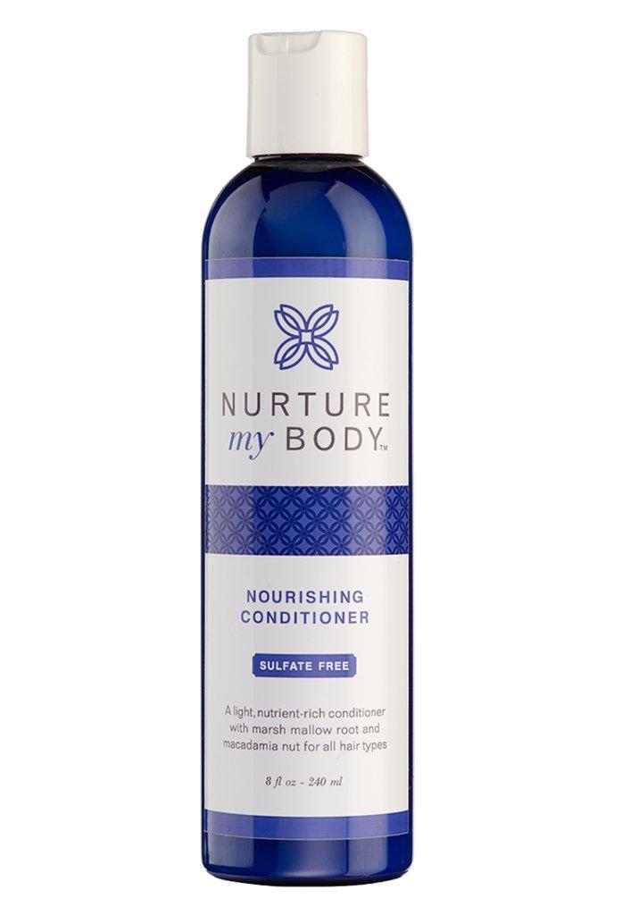 Nurture My Body All-Natural Everyday Conditioner, 8 fl oz. - Certified Organic Ingredients
