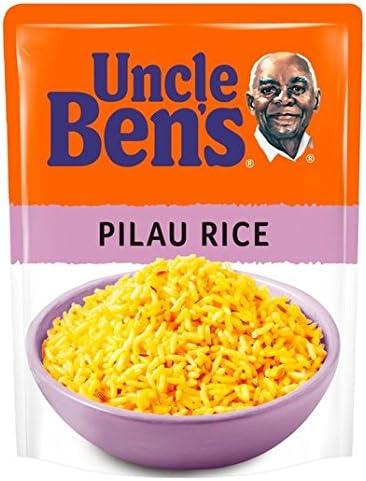 250g Uncle Bens Microondas arroz pilaf: Amazon.es: Alimentación y ...