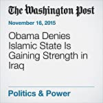 Obama Denies Islamic State Is Gaining Strength in Iraq | Elise Viebeck
