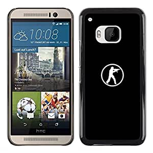 FU-Orionis Colorful Printed Hard Protective Back Case Cover Shell Skin for HTC One M9 - Lets Go - Heat - Basketball