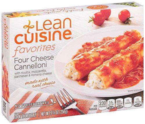 (Lean Cuisine, Favorites, Four Cheese Cannelloni, 9.125 oz)