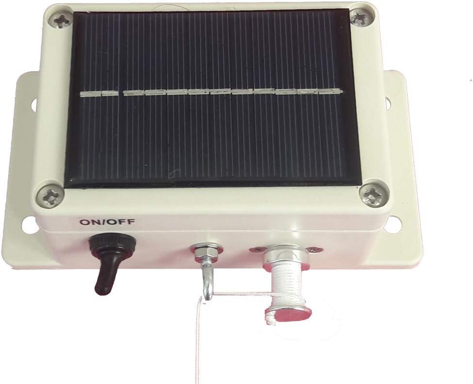 Antirrocpoule módulo de cierre automático para gallinero, solar, autónomo.