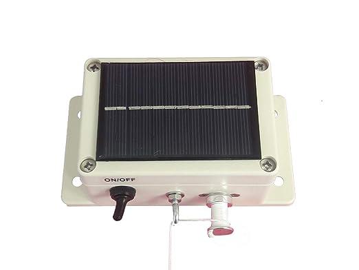 Anticrocpoule Módulo de Cierre automático para gallinas. Solar ...