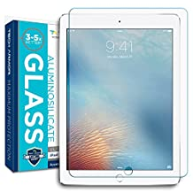 iPad Air Screen Protector, Tech Armor Apple iPad Air / iPad Air 2 / NEW iPad 9.7 (2017) Prime Screen Protector made with Accessory Glass 2 By Corning® (0.3mm)