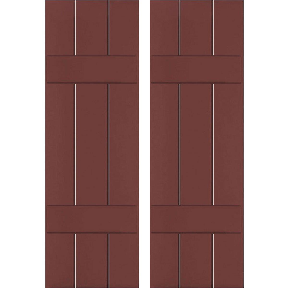 Ekena Millwork RWB12X040CRW Exterior Three Board