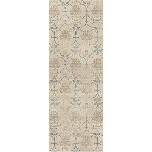RUGGABLE Leyla Crème Vintage Washable Indoor/Outdoor Stain Resistant 2.5'x7' (30