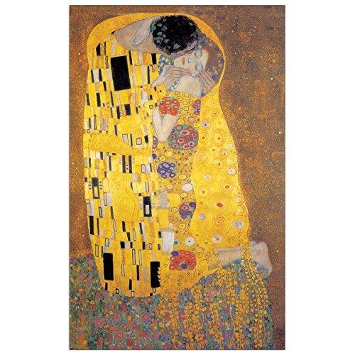 Artopweb Pannelli Decorativi Klimt The Kiss Quadro, Legno, 62x1.8x100 cm Eclissi EC16209 stampe; quadri
