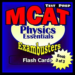 Exambusters MCAT Study Cards By Ace Academics