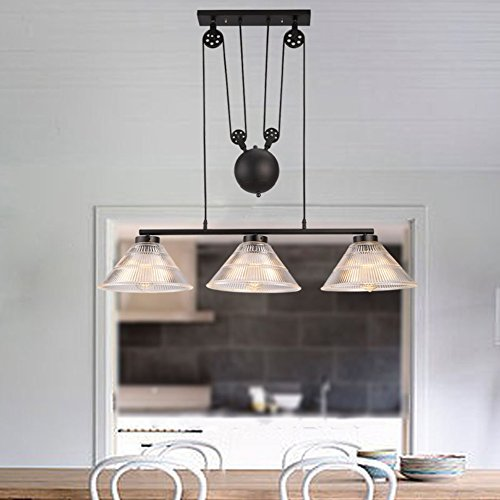 Rise And Fall Pendant Light Fitting in US - 2