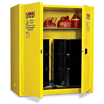 Wonderful Eagle Vertical Drum Cabinet For Flammable Hazardous Waste   58X31x65u0026quot;    2 Drum Capacity