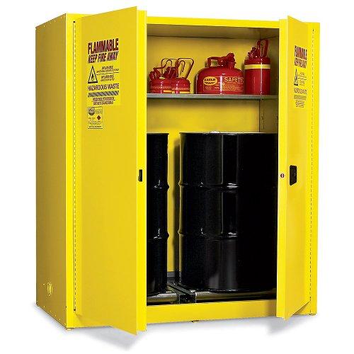 Eagle Vertical Drum Cabinet For Flammable Hazardous Waste - 31X31x65