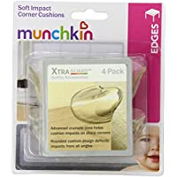 Munchkin XTRAGUARD 4 Count Soft Impact Corner Cushions