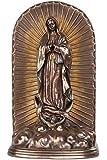 12.25 Inch Guadalupe Urn Patron Saint Religious Statue Figurine