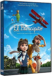 El Principito (2015) DVD Region 1 and 4 (French and Spanish Audio /